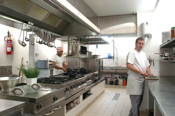Fotogalerij restaurant mykene leuven - Open keuken s alon ...